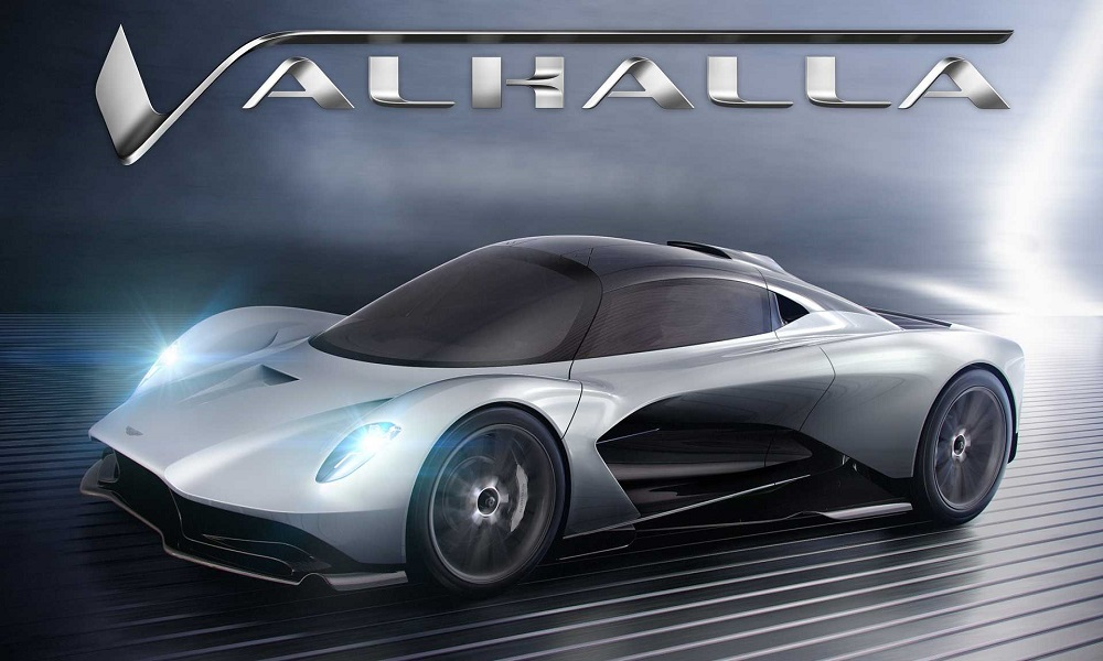 Aston Martin Valhalla هجينة بمحرك وسطي