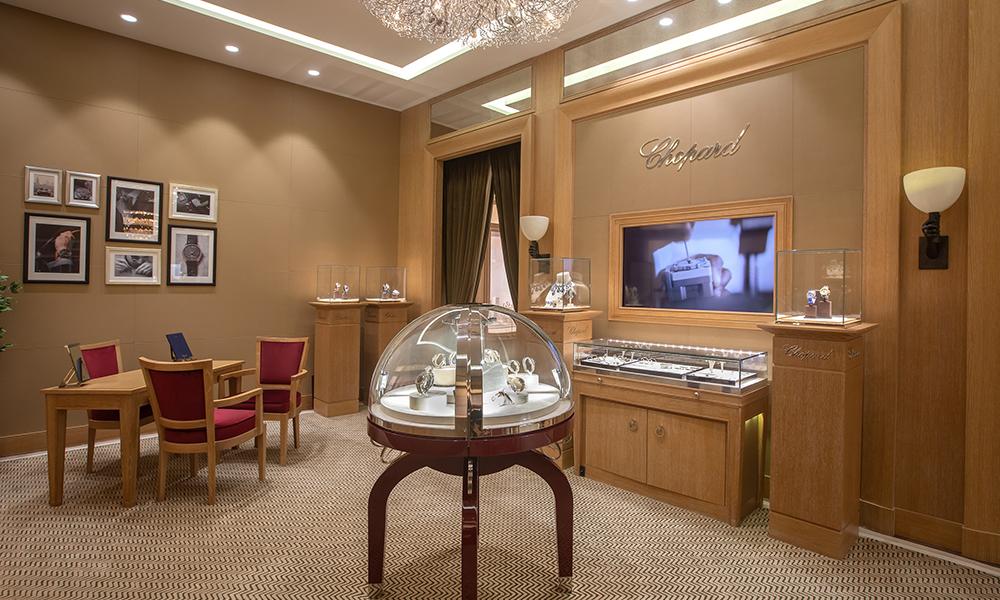 Chopard تتوسع في الدوحة بالتعاون مع مجوهرات الفردان