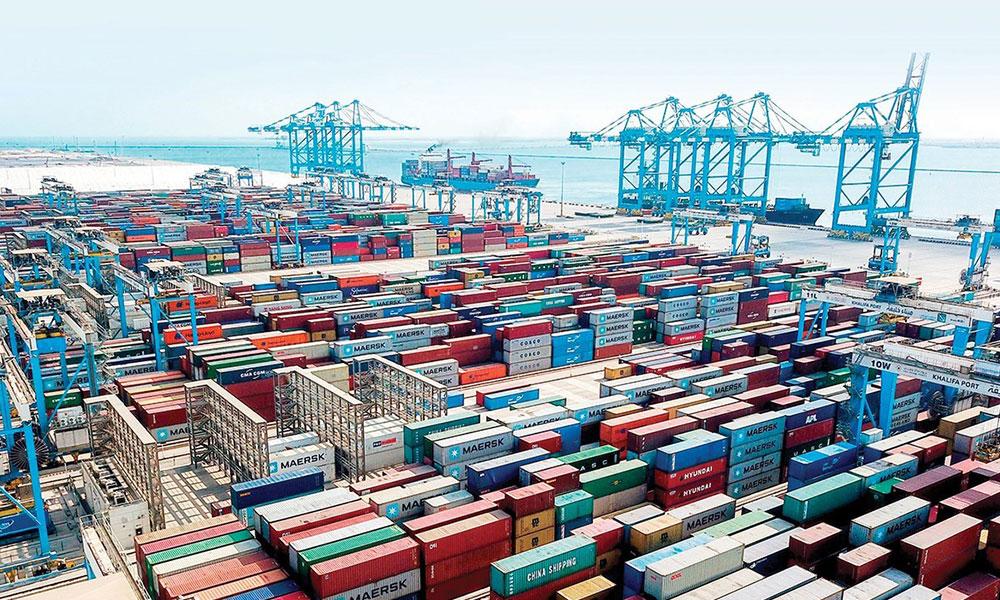 قيمة تجارة أبوظبي الخارجية من المواد الغذائية تبلغ 7.51 مليارات درهم