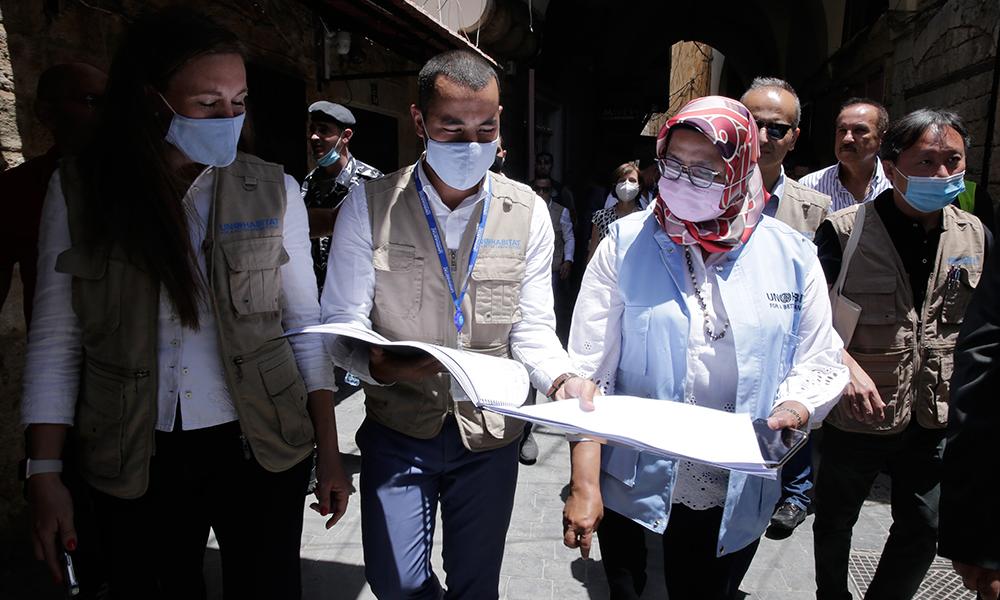 مديرة برنامج الأمم المتحدة للمستوطنات البشرية تختتم زيارتها الرسمية الأولى إلى لبنان