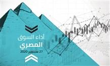 تذبذب الأسهم المصرية في بداية الأسبوع