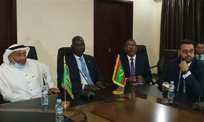 """وفد من """"الصندوق السعودي للتنمية"""" في موريتانيا لمناقشة سبل تطوير القطاع الصحي"""