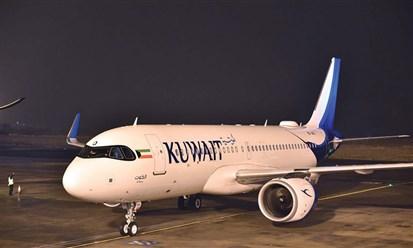 """الكويتية تتسلم """"الكوت"""" سادس طائرات ايرباص  A320neo"""