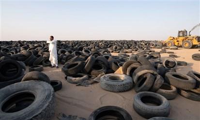 الكويت تبدأ بإعادة تدوير أكثر من 42 مليون إطار من إطارات السيارات الخردة
