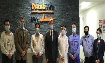 دوكابHV يفوز بعقد توريد كابلات المرحلة 5 من مجمع محمد بن راشد للطاقة الشمسية