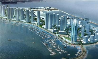 """""""دبي الملاحية"""" تنجز 80% من أعمال المرحلة الأولى لمنطقتها التجارية"""