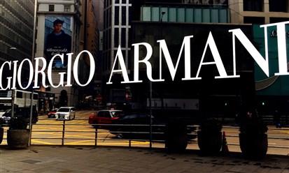 GIORGIO ARMANI: تحسن الإيرادات في النصف الأول