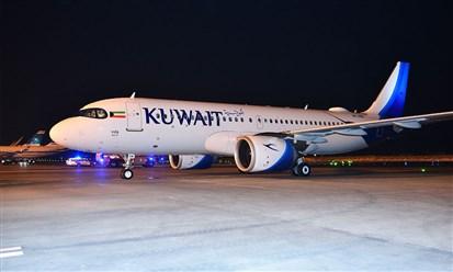 الكويتية تتسلم ثالث طائراتها إيرباص A320 neo