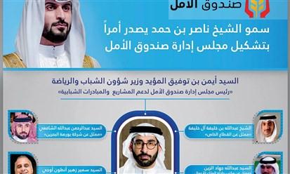 """البحرين: صندوق """"الأمل"""" برئاسة وزير الشباب والرياضة"""