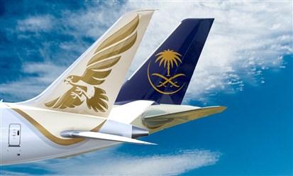 الخطوط السعودية وطيران الخليج توقعان اتفاقية لتعزيز الشراكة
