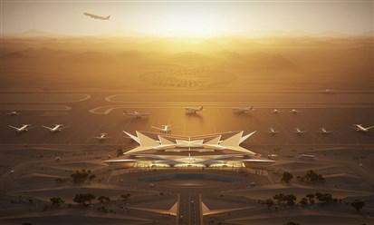 """""""أمالا"""" تكشف عن تصميم مطارها الجديد في السعودية"""