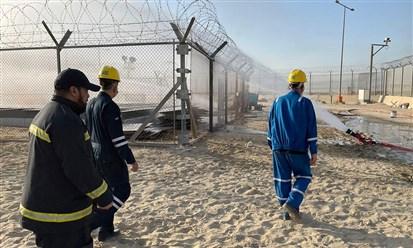 الكويت: حريق في حقل برقان النفطي ولا تأثير على الانتاج