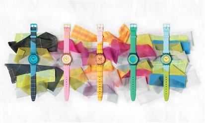 Swatch في عالم الموضة من جديد