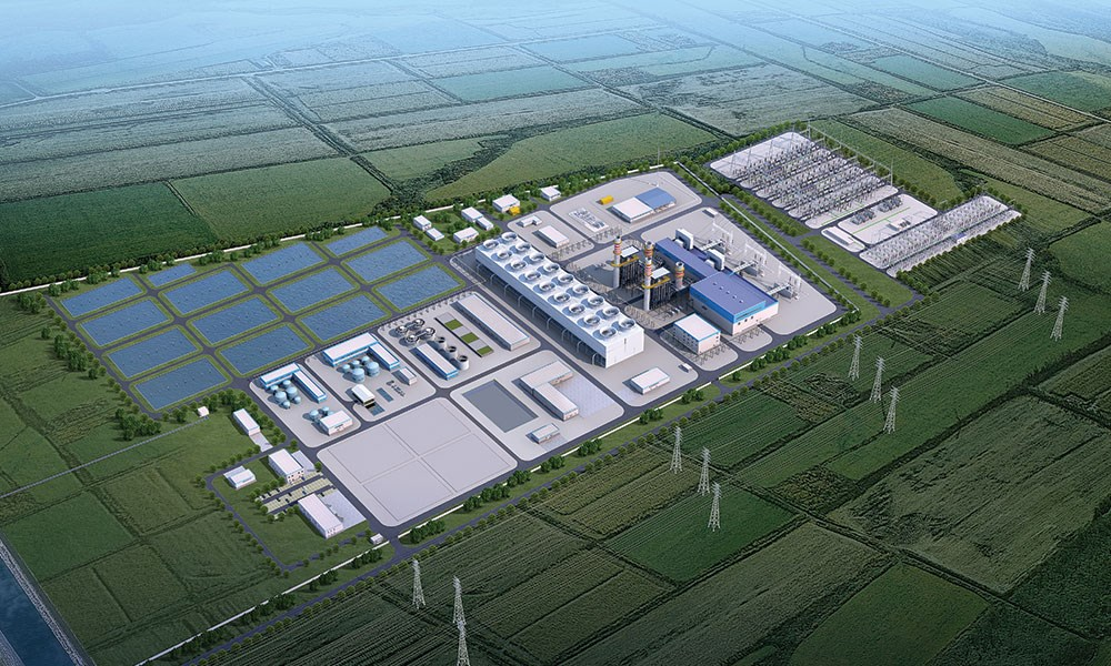 """""""أكوا باور"""": مليار دولار لمحطة سيرداريا لتوليد الطاقة في أوزبكستان"""