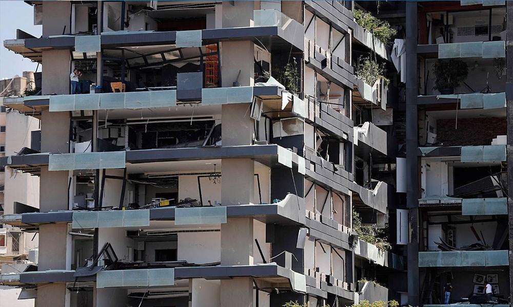 انفجار بيروت يعيد المشهد العقاري إلى زمن الحرب