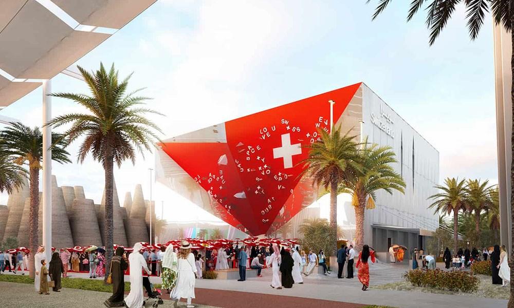 """الجناح السويسري يستكمل أعماله الهيكلية استعداداً لـ""""إكسبو 2020 دبي"""""""