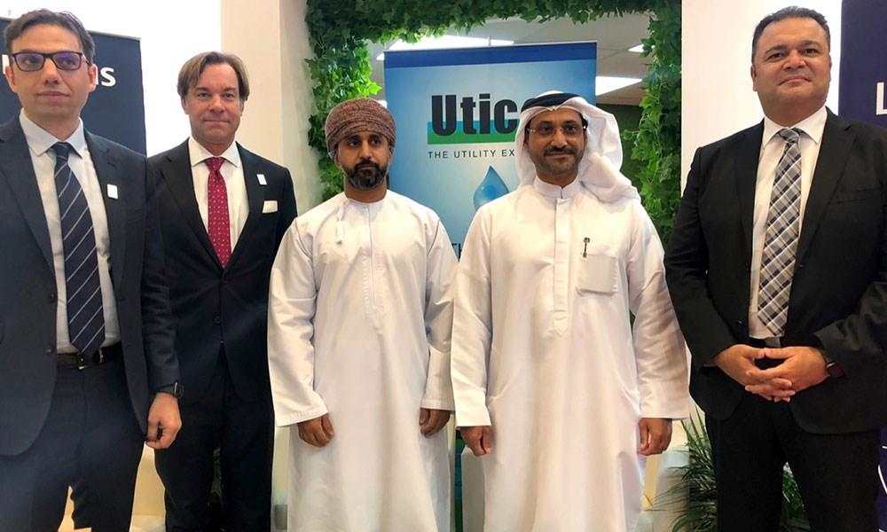 """""""يوتيكو"""" تعزز شراكتها مع """"سيمنز"""" لتطوير مشروع محطة حصيان المتكاملة للمياه في دبي"""