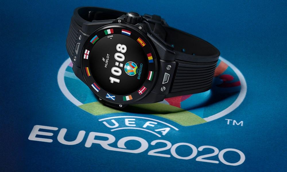 HUBLOT تكشف عن ساعة كأس الأمم الأوروبية الرسمية