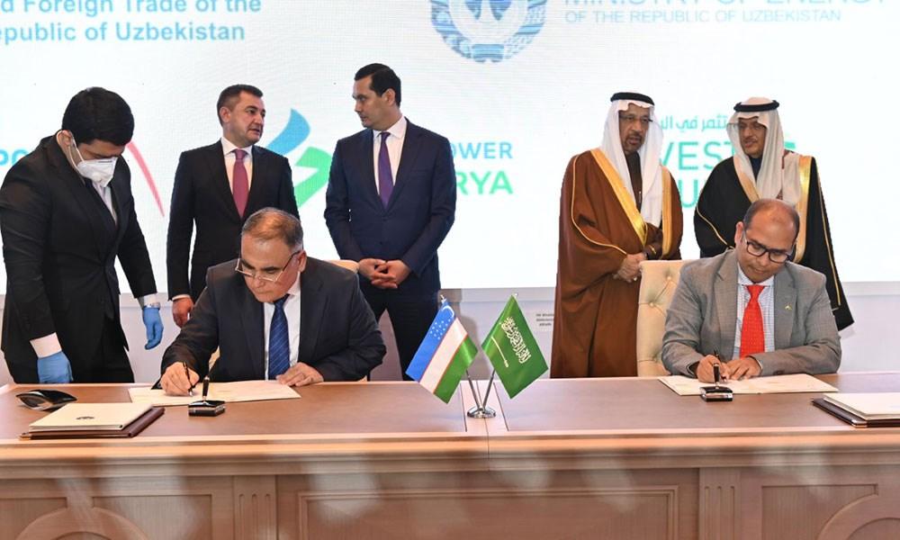 """""""أكوا باور"""" ووزارة الطاقة الأوزبكية تدشنان مشاريع جديدة في أوزبكستان"""