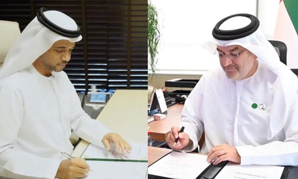 """""""اقتصادية أبوظبي"""" توقع اتفاقية مع """"سلال"""" لدعم المنتج الزراعي المحلي"""