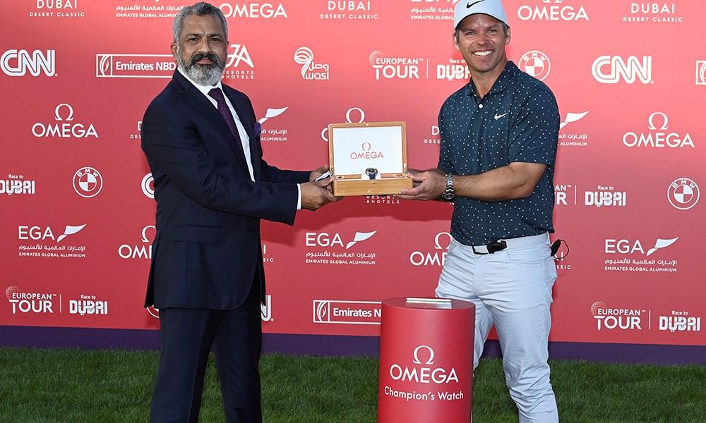 اختتام بطولة Omega Dubai Desert Classic في دبي