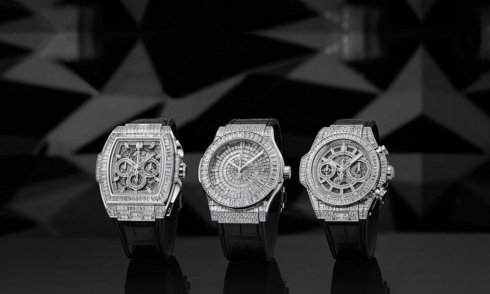 HUBLOT تكشف عن 3 إصدارات من فئة الساعة الجوهرة