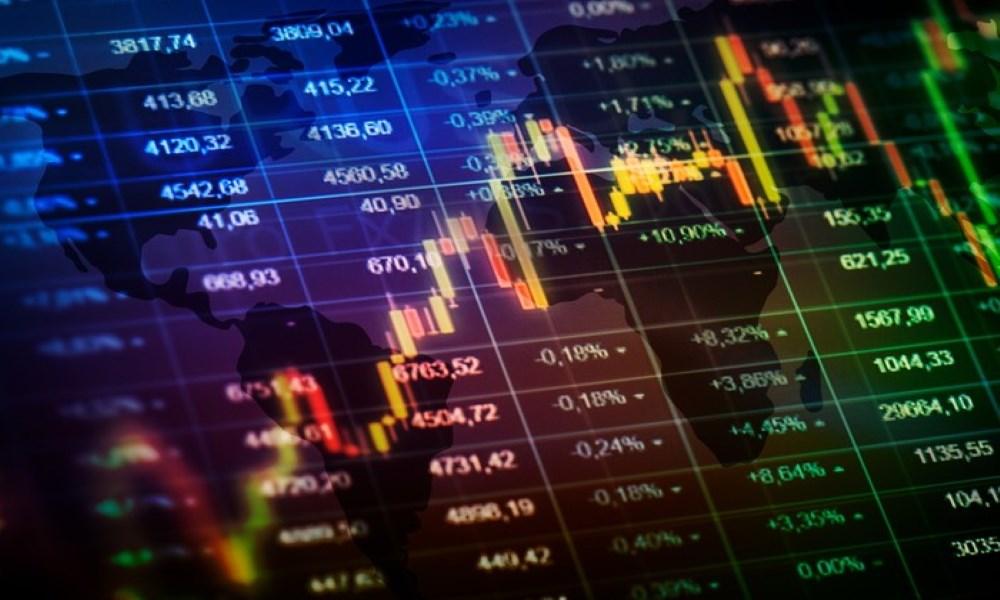 انخفاض البورصات العالمية القيادية باستثناء الصينية