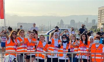 سيدات BCTC يركضن عن أرواح زملائهم والجرحى منهم في انفجار مرفأ بيروت