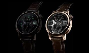 A. LANGE & SÖHNE تقدم ساعة جديدة مصنوعة من ذهب Honeygold