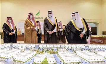 """أمير المدينة المنوّرة يفتتح عدداً من المشاريع في """"مدينة المعرفة الاقتصادية"""""""