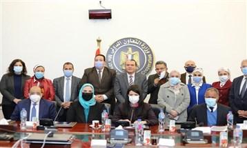 3 وزارات مصرية تبحث التوسع في مشروعات برنامج الأغذية العالمي