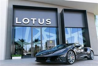 Lotus Emira للمرة الأولى في الشرق الأوسط