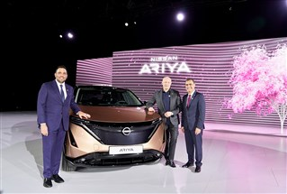 "Nissan تؤكد من خلال شراكتها مع إكسبو 2020 على استدامة أعمالها وتكشف عن ""أريا"" الكهربائية في المنطقة"