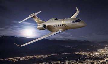 """""""تشالنجر 3500"""" أول طائرة أعمال تستخدم تطبيق إيكو ونظامي بايلوت إي دبليو إيه إس وأوبتي فلايت"""
