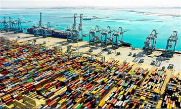 توسيع ميناء خليفة يسير بحسب الجدول الزمني برغم التحديات